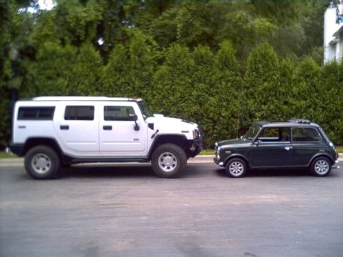Hummer vs mini side by side