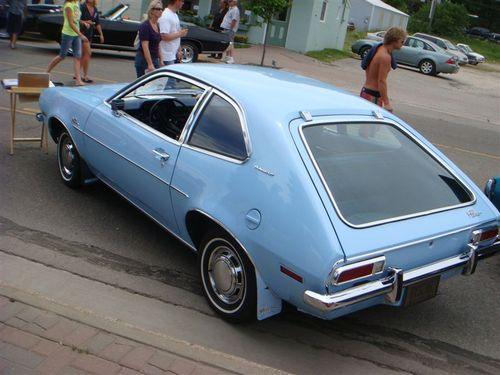 Pinto rear